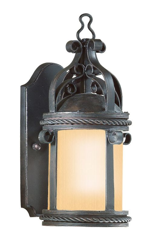 "Troy Lighting BF9120 Pamplona 1 Light 12"" Outdoor Wall Sconce Old"