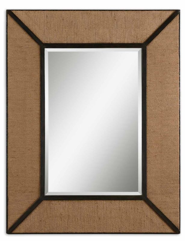 Uttermost 7614 Ripley Mirror Natural Rope Home Decor Lighting