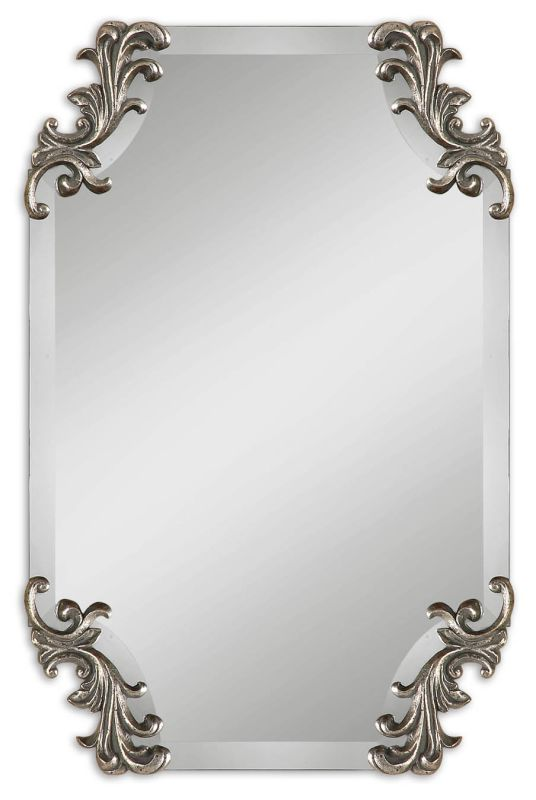 Uttermost 8087 Andretta Mirror Antique Silver Home Decor Lighting