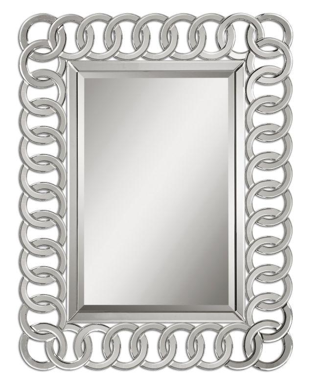 Uttermost 8102 Caddoa Mirror Matte Black Home Decor Lighting