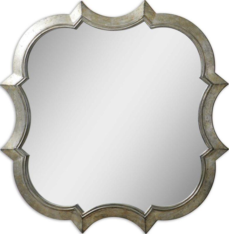 Uttermost 9520 Farista Mirror Antique Silver Home Decor Lighting