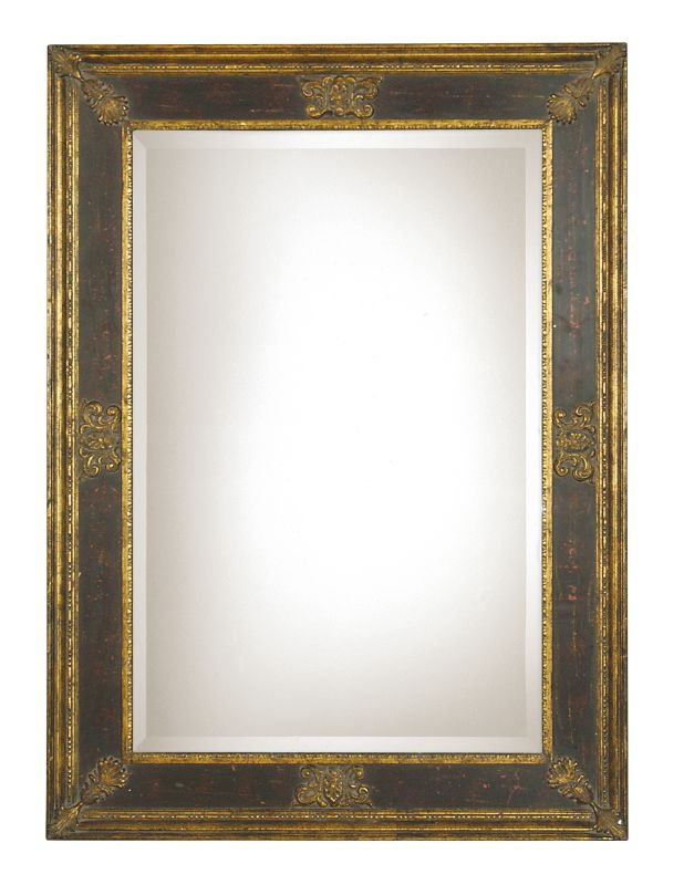Uttermost 11207 B Cadence Small Stately Beveled Mirror Gold Black Sale $283.80 ITEM: bci821449 ID#:11207 B UPC: 792977981757 :