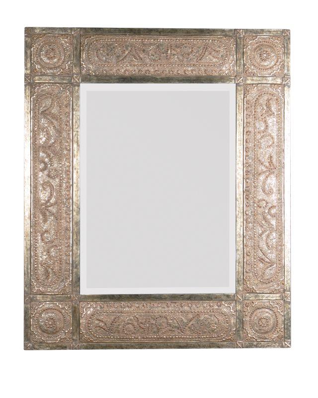 Uttermost 11602 B Harvest Serenity Beveled Mirror With Ornate Frame