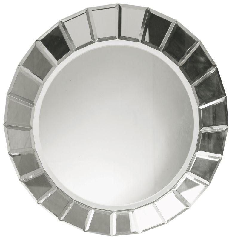 Uttermost 11900 B Fortune Round Frameless Mirror Beveled Glass Home