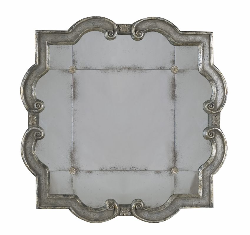 Uttermost 12597 P Prisca Small Etched Mirror With Ornate Frame