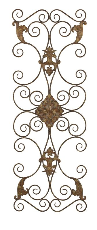 Uttermost 13318 Fayola Scrolls Hand Forged Metal Wall Art Distressed