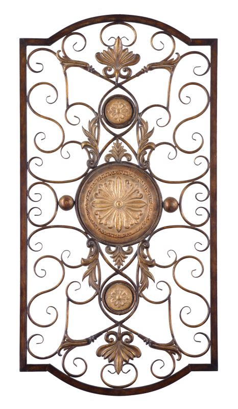 Uttermost 13476 Micayla Large Medallion Accent Metal Wall Art