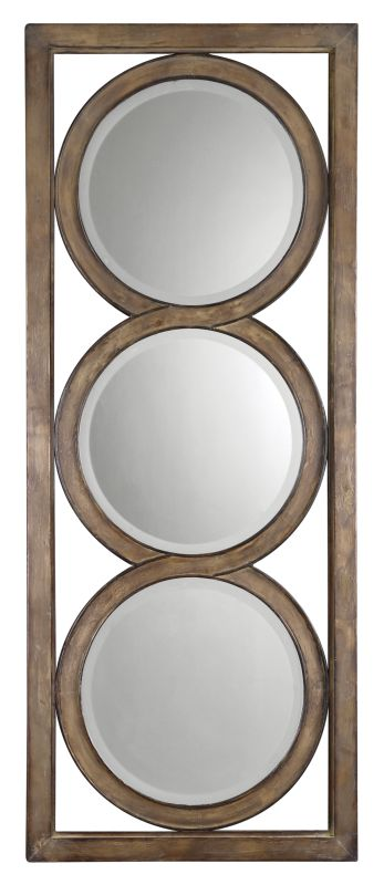 Uttermost 13533 B Isandro Beveled Multi-Mirror Wall Art In Metal Frame
