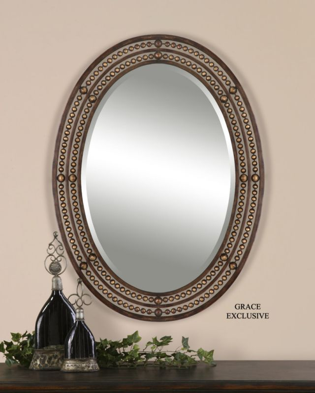 Uttermost 13716 AnnMarie Oversized Mirror Mirror Home Decor Lighting
