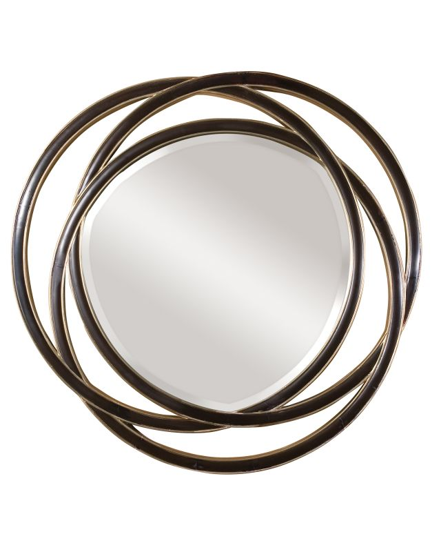 Uttermost 14522 B Odalis Beveled Mirror With Entwined Circles Frame