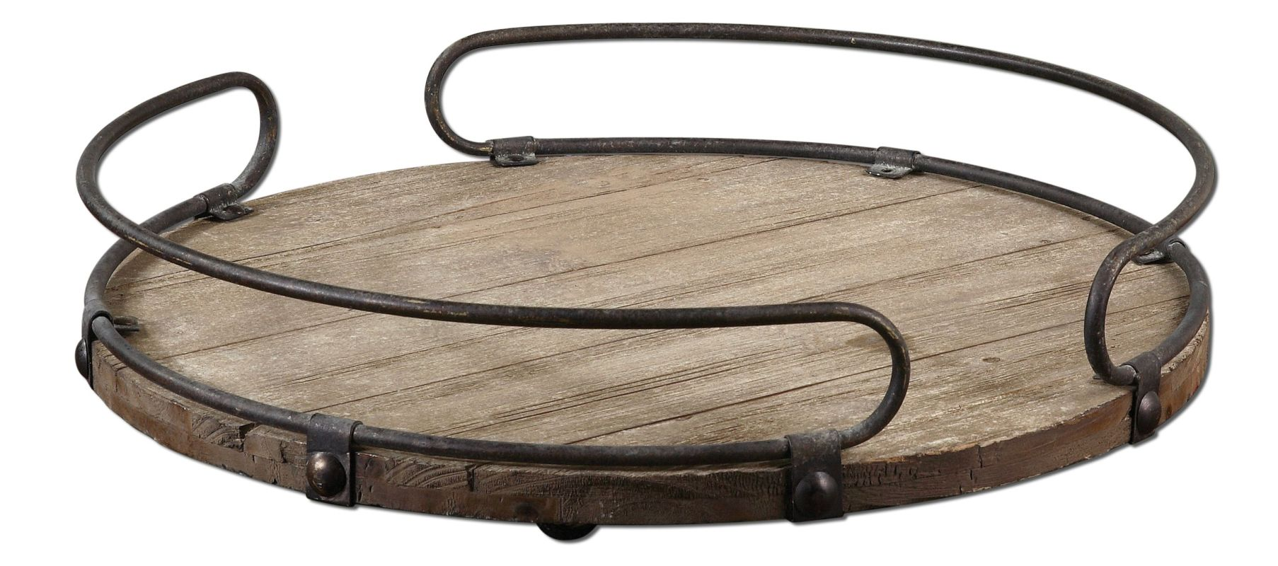 Uttermost 19727 Acela Tray Natural Wood Home Decor Decorative Trays