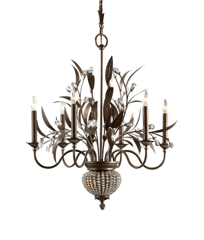 Uttermost 21017 6 Light Single Tier Chandelier with 2 Down Lights from Sale $521.40 ITEM: bci931208 ID#:21017 UPC: 792977210178 :