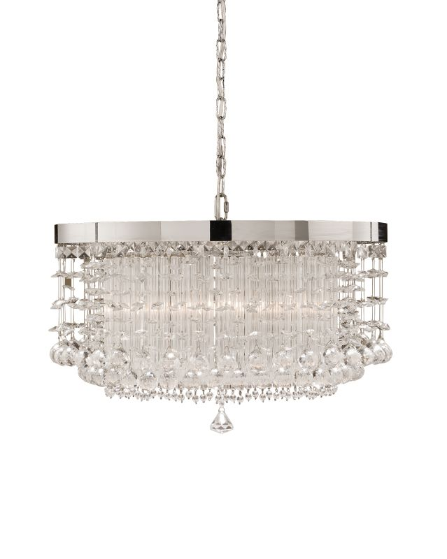 Uttermost 21138 Crystal Hanging Shade Pendant from the Fascination
