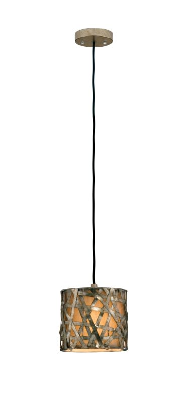 Uttermost 21839 Alita Champagne Single Light Mini Metal Hanging Shade