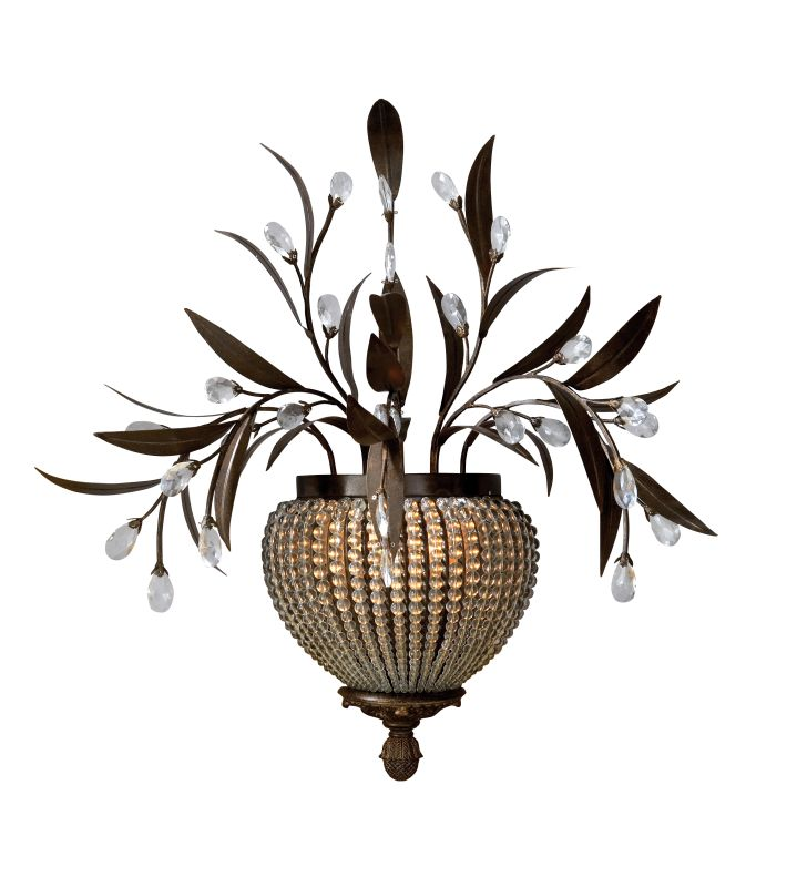 Uttermost 22401 2 Light Wall Sconce from the Cristal de Lisbon