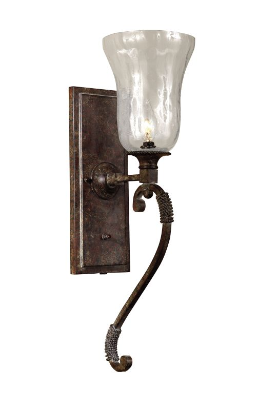 Uttermost 22418 Single Light Wall Sconce from the Galeana Collection