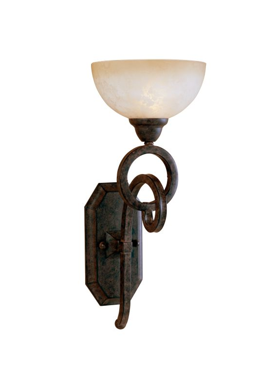 Uttermost 22430 Single Light Wall Sconce from the Legato Collection