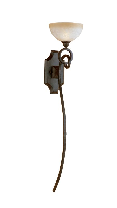 Uttermost 22431 Single Light Wall Torchier from the Legato Collection