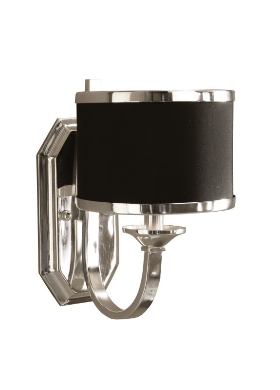 Uttermost 22442 Single Light Wall Sconce from the Tuxedo Collection