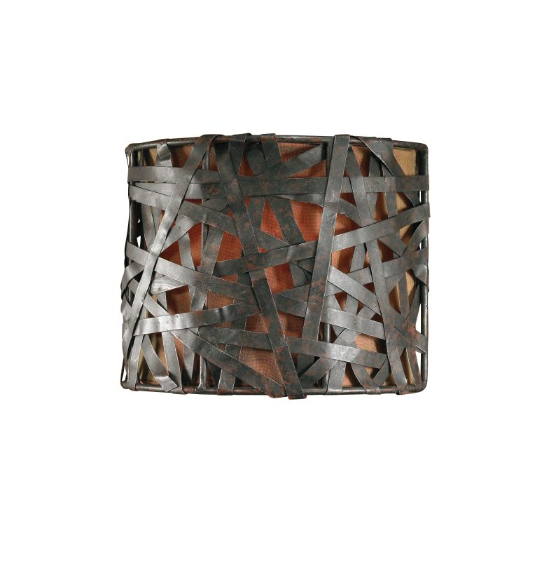 Uttermost 22463 Single Light Wall Sconce from the Alita Collection
