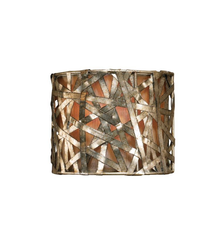 Uttermost 22464 Single Light Champagne Wall Sconce from the Alita
