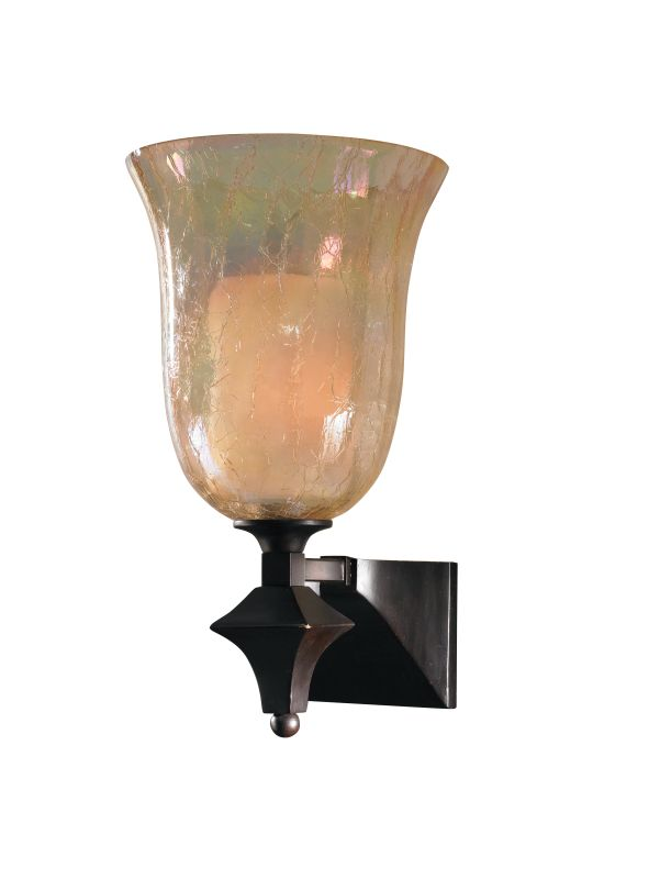 Uttermost 22467 Single Light Wall Sconce from the Elba Collection