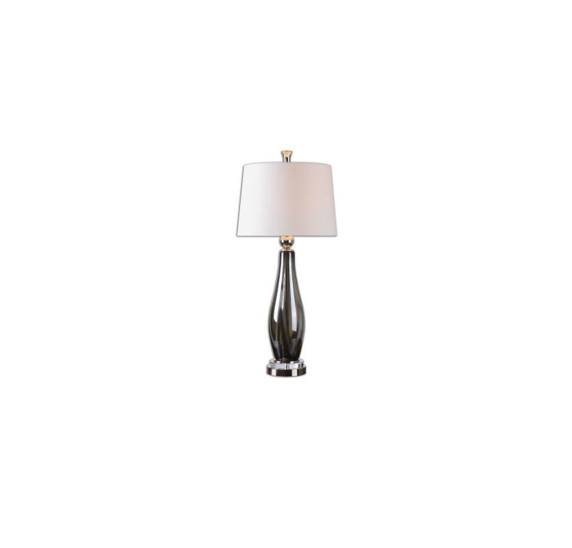 Uttermost 26154 Belinus 1 Light Table Lamp Polished Nickel Lamps Sale $217.80 ITEM: bci2607165 ID#:26154 :