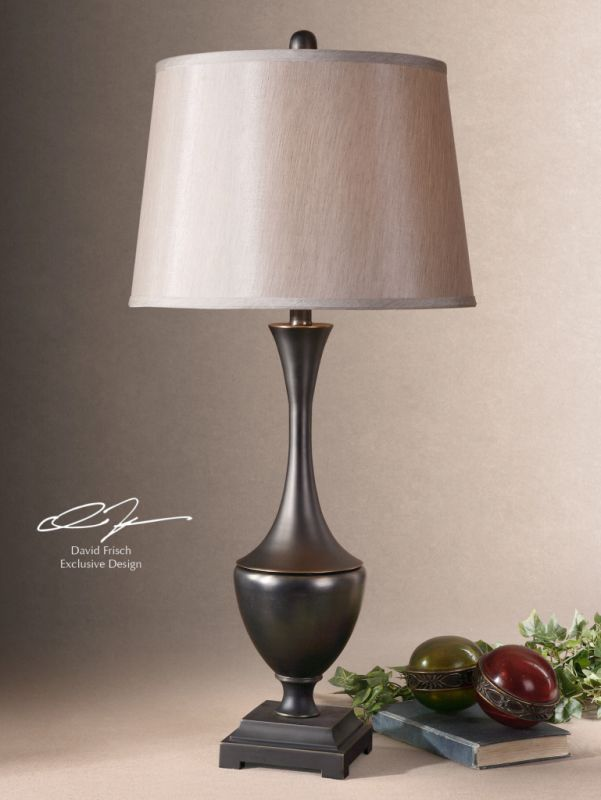Uttermost 26253 Cast Metal Base Lamp from the Davoli Collection