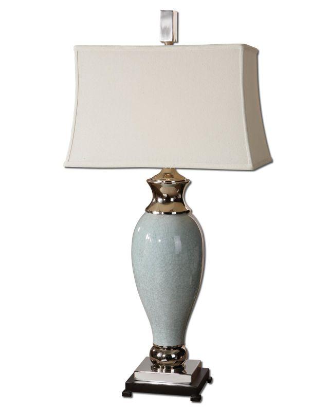 Uttermost 26783 Single Light Ceramic Table Lamp from the Rossa