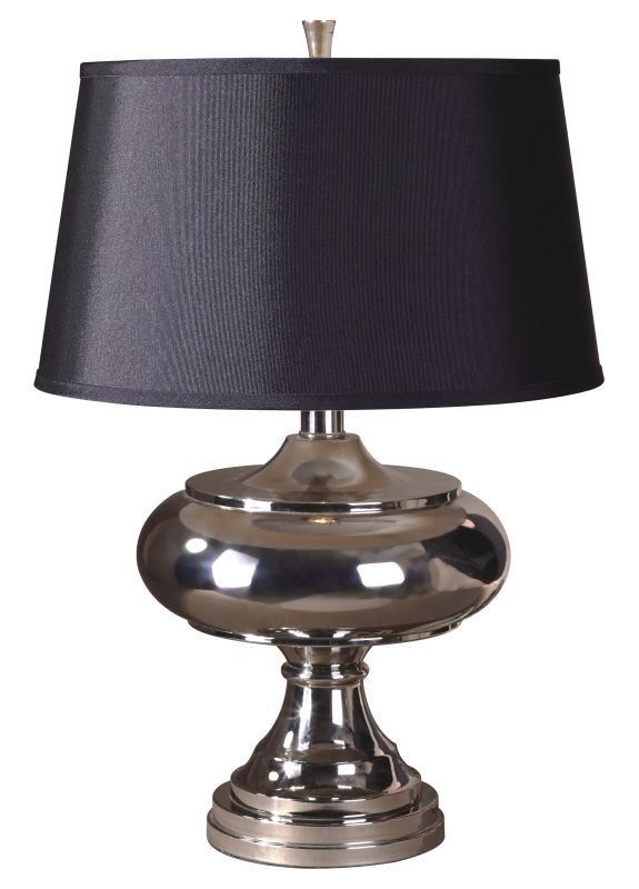 Uttermost 26987 Jelani Table Lamp Polished Chrome Plated. Lamps