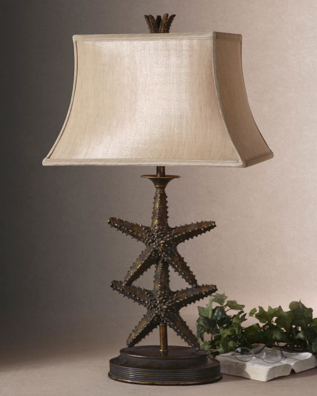 Uttermost 26997 Starfish Design Table Lamp from the Starfish Sale $217.80 ITEM: bci1216378 ID#:26997 UPC: 792977269978 :