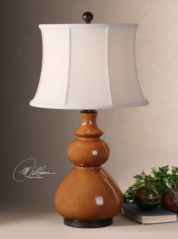 Uttermost 26999 Porcelain Body Lamp from the Belfast Collection