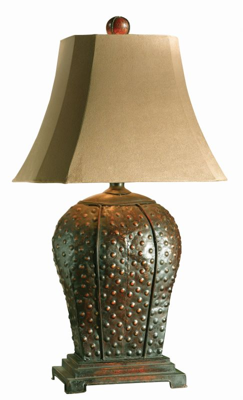 Uttermost 27511 Valdemar Table Lamp Mahogany Finish With Rust Sale $195.80 ITEM: bci822309 ID#:27511 UPC: 792977275115 :