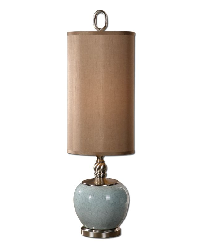 Uttermost 29279-1 Single Light Up / Down Lighting Ceramic Bulb Table