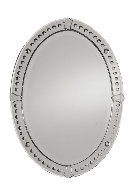 Uttermost 05003 B Graziano Frameless Beveled Mirror Mirrored Home