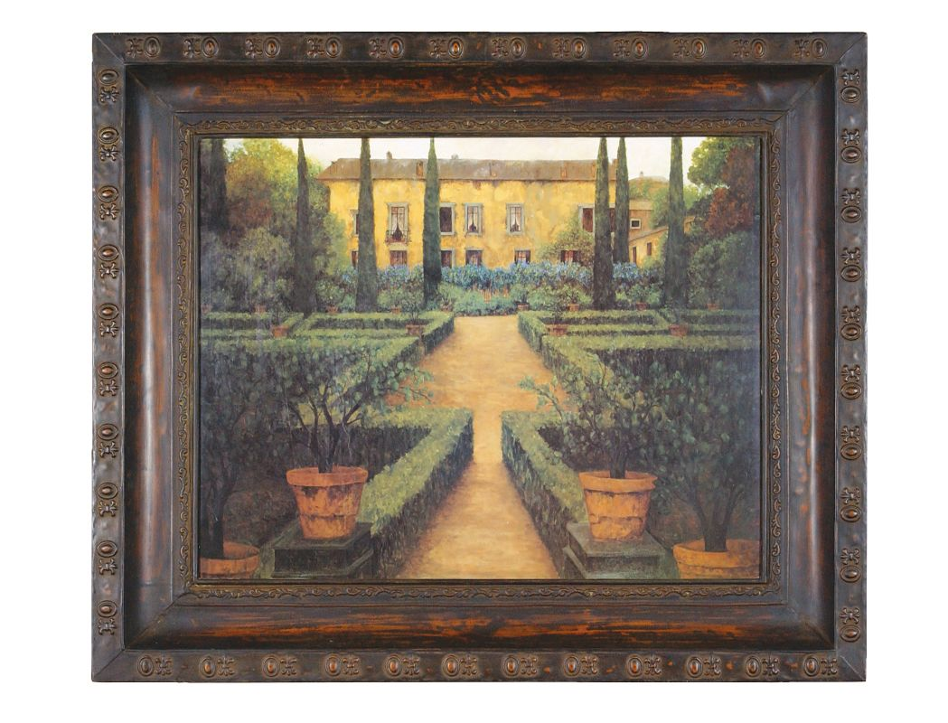 Uttermost 50422 Garden Manor Green Yellow Home Decor Paintings