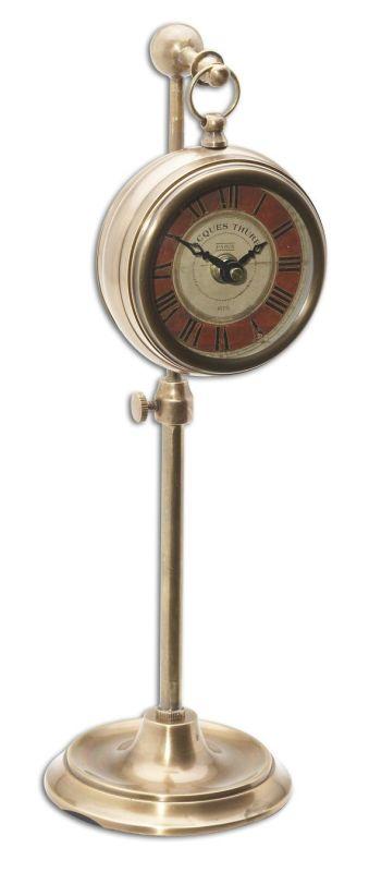 Uttermost 6068 Pocket Watch Brass Thuret Clock Brass Home Decor Desk