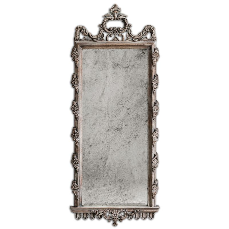 Uttermost 05030 Via Giulia Distressed Long Mirror Distressed Light