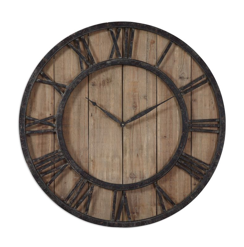 Uttermost 06344 Powell Clock Bronze Home Decor Wall Clocks Sale $253.53 ITEM: bci2244080 ID#:6344 UPC: 792977063446 :