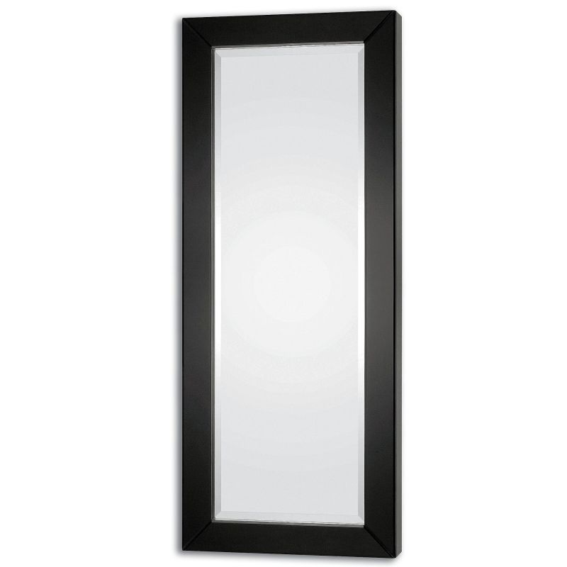"Uttermost 08128 Hilarion 66"" x 27"" Beveled Mirror Black Home Decor"