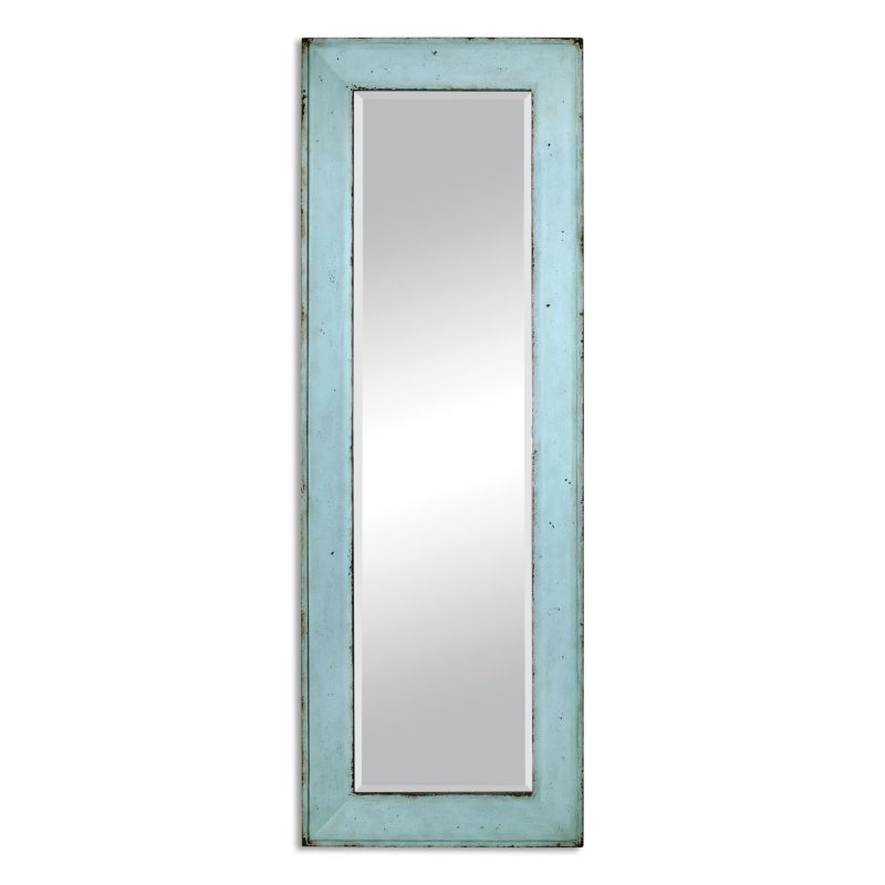 """Uttermost 09523 Chasity 75"""" x 26"""" Wall Mirror Distressed Antiqued"""