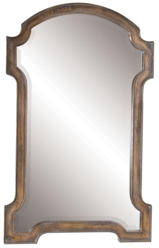 Uttermost 12840 Corciano Oxidized Copper Mirror Oxidized Copper Home