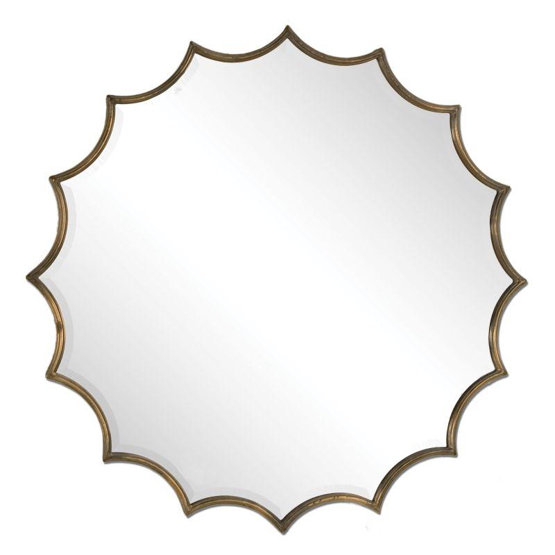 Uttermost 12841 San Mariano Starburst Mirror Oxidized Copper Home