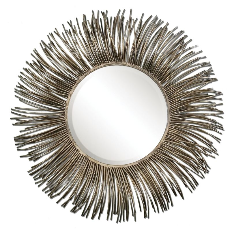 Uttermost 12845 Akisha Starburst Mirror Oxidized Nickel Home Decor