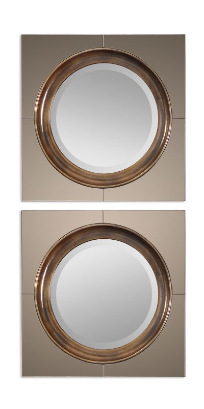 Uttermost 12855 Gouveia Rounded Mirror Antique Gold Home Decor Sale $213.40 ITEM: bci2244096 ID#:12855 UPC: 792977128558 :