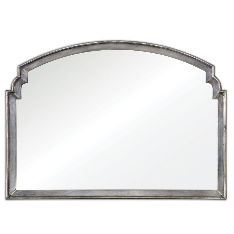 Uttermost 12880 Via Della Antiqued Metallic Mirror Antiqued Silver