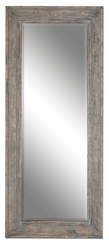 Uttermost 13830 Missoula Distressed Leaner Mirror Heavily Distressed