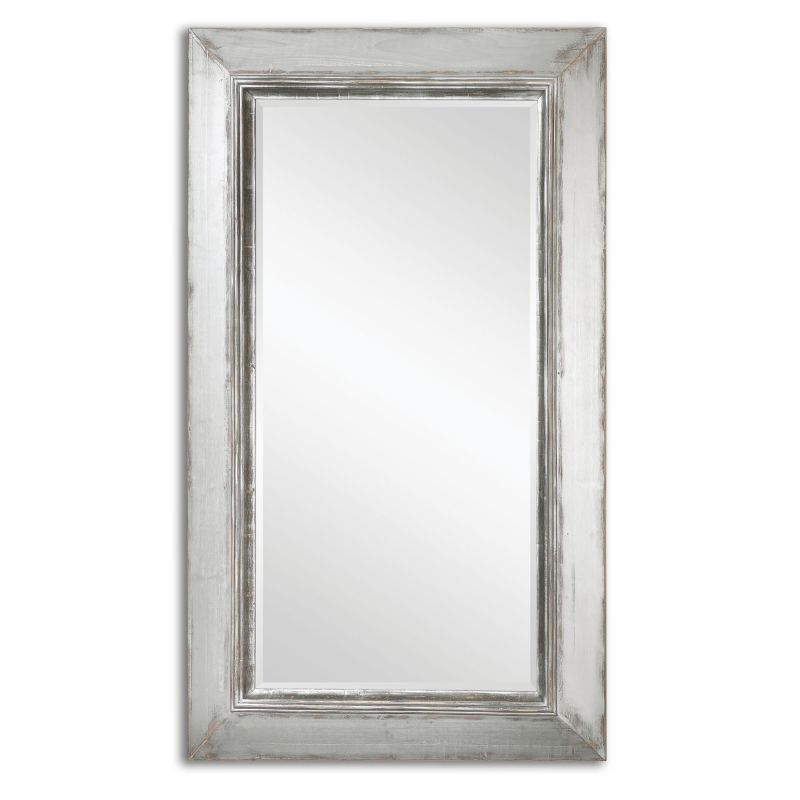 Uttermost 13880 Lucanus Oversized Distressed Metal Mirror Aged Silver
