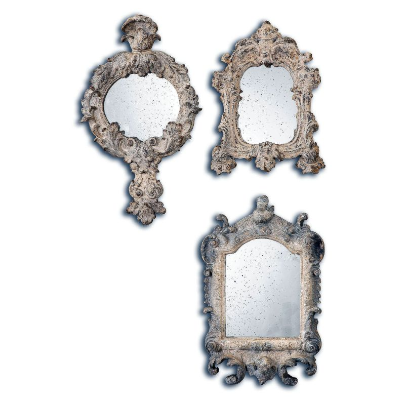 """Uttermost 13882 Rustic Artifacts Reflections 16"""" x 12"""" Flat Mirrors - Sale $215.60 ITEM: bci2944134 ID#:13882 UPC: 792977138823 :"""