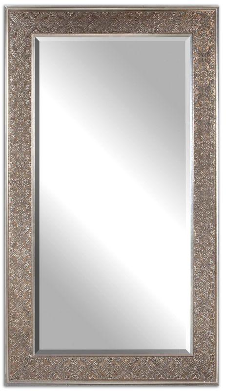 Uttermost 14225 Villata Antique Washed Mirror Antiqued Silver